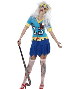 Hockey Player Zombie Costume