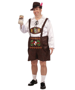 plus size Bavarian costume