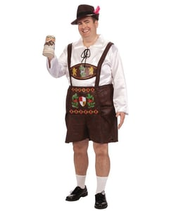 plus size Bavarian costume