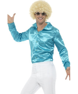 60's Shirt - Blue