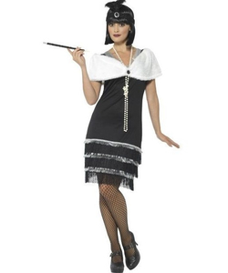 plus size Glam Flapper Costume