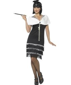 plus size Glam Flapper Costume