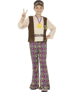 hipie boy tween costume