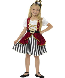 Deluxe Pirate Girl Costume - Kids