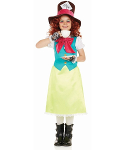 kids little miss hatter costume