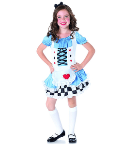 Miss Wonderland Costume - Tween