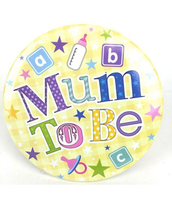 Mum To Be Jumbo Badge