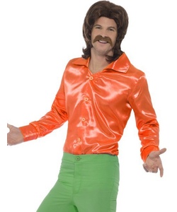 orange 60's shirt