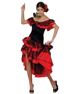 Spanish Senorita Costume - Plus Size