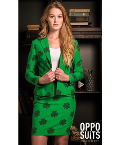 St Patrick's Girl suit