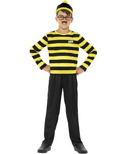 Kids Where's Wally odlaw costume