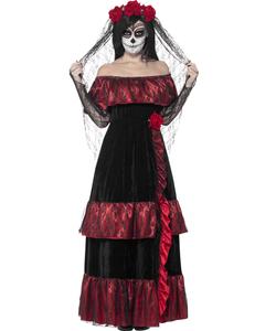 plus size Day of the Dead Bride Costume