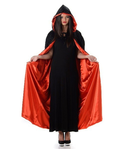 Red And Black Cape