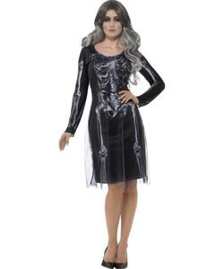 lady skeleton costume
