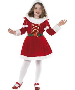 Little Miss Santa Costume