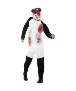 Deluxe Zombie Panda Costume