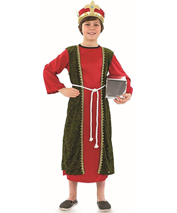 Red Wise Man Costume - Kids