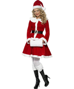 e3a17d483e7e Ladies Christmas Costumes - Mrs Claus And Santa s Elves