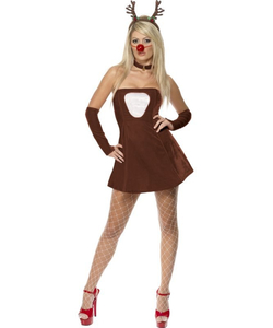 Red Hot Reindeer Costume