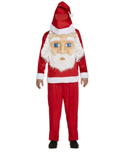 Santa Jumbo Face Costume