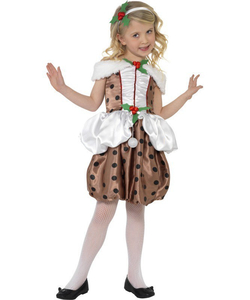 Kids Christmas pudding costume