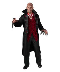 Deluxe Royal Vampire costume - Plus size