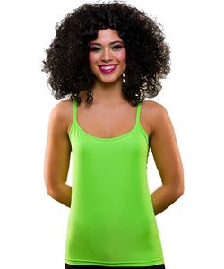 80's vest top neon green