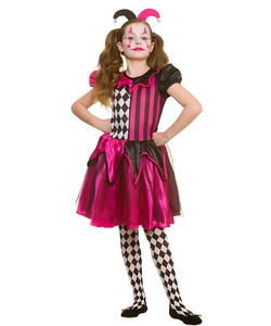 freaky jester costume
