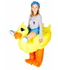 Inflatable duck costume - Kids