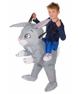 Inflatable rabbit costume - Kids