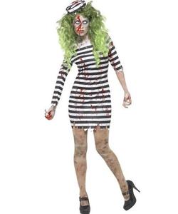 Zombie Jail Bird Costume