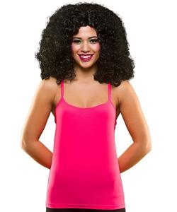 80's Neon Vest Top - Pink