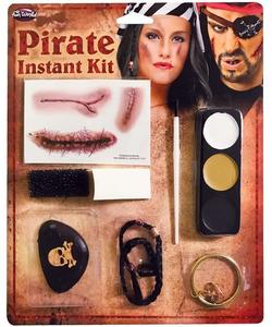Caribbean Pirate Make-Up Kit