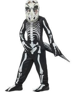 Deluxe T-Rex Skeleton Costume - Kids