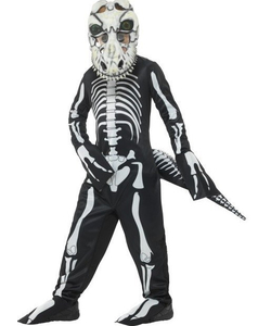 Deluxe T-Rex Skeleton Costume - Tween