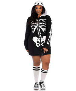 plus size cozy skeleton