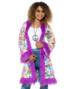 60's groovy hippie coat