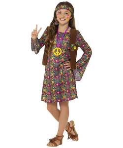 Kids Hippie Girl costume