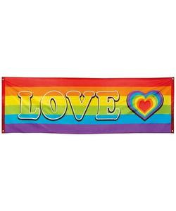 Rainbow Love Banner
