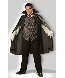 plus size midnight vampire costume