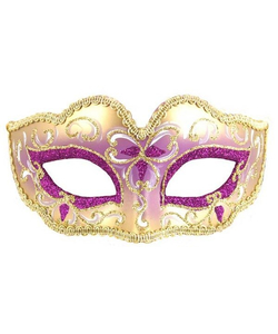 Glitter Eye Mask - Purple
