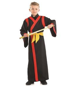 kids samurai boy costume