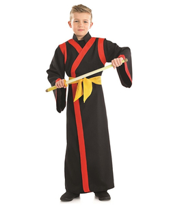 tween samurai boy costume