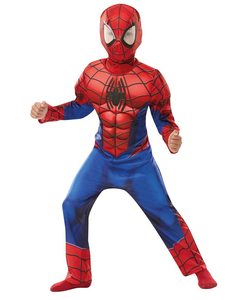 Deluxe Spiderman Kids Costume