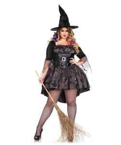 plus size black magic mistress costume