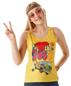 """""""I Love 70's"""" Vest Top"""
