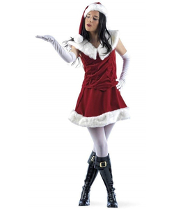 Santa Claus Outfit - Ladies