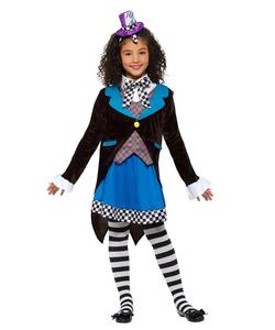 Little Miss Hatter Tween Costume