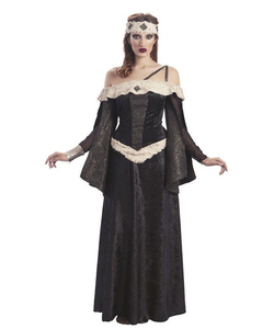 Dark Medieval Queen Costume