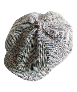 Newsboy Shelby Plaid Cap